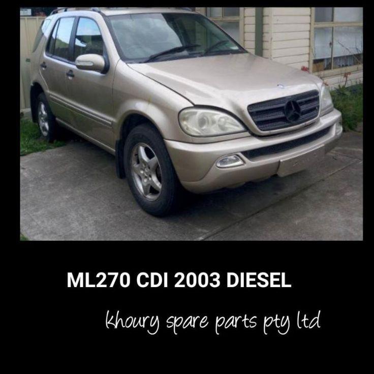 ML270CDI 2003